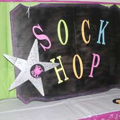 """Let's Rock & Roll"" - Sock Hop   50'S Theme"