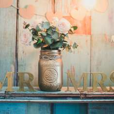 Vintage sweet table  - Rustic
