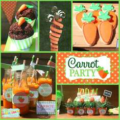 Easter Carrot Party - Easter