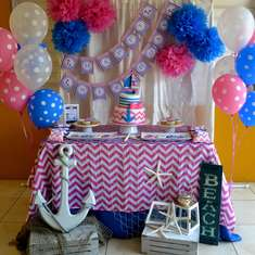 {Nautical Girl Birthday} - Nautical