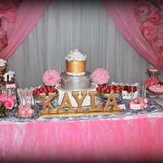 Glam Baby Shower  - It'S A Girl/ Pink and silver