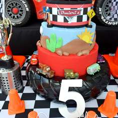Disney Cars 5th Birthday Boy - Disney Cars