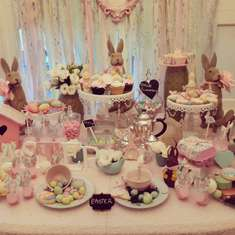 Easter sweet table - Easter