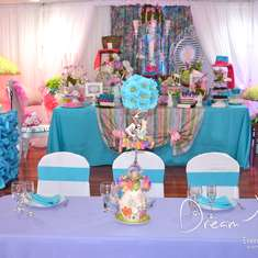 Alice in Wonderland 15th Decor - Alice in Wonderland