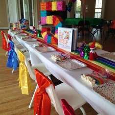 Rainbow Party Inspired by Elf on the Shelf Birthday Tradition - Rainbows & Colors