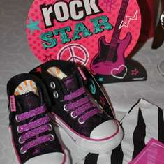 Meigan's 1st Party Rock Princess Birthday - Rock N Roll Princess