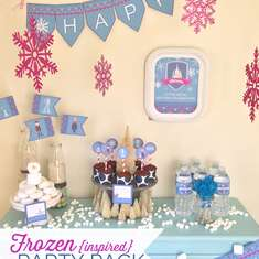 Frozen {inspired} Birthday - None