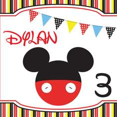 D's 3rd Birthday - Mickey Mouse Clubhouse