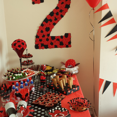 Urte's 2 birhday party - Ladybug Birthday Party