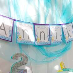 Annika's 2nd Birthday - Mermaid