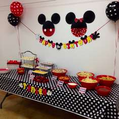 Tenley's First Birthday  - Mickey and Minnie Mouse