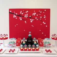 Cherry Blossoms Themed Mother's Day Party - Spring, flowers