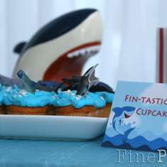 Shark Party - An Under the Sea Birthday - Sharks