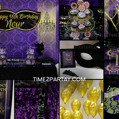 A Masquerade Themed 18th Birthday - Masquerade