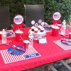 Stars and Stripes on the 4th of July - Patriotic/ Fourth of July