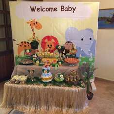 Welcome to the Jungle Baby Ralph - jungle animals