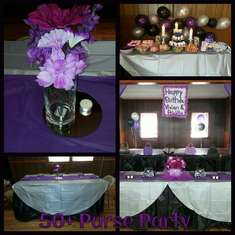 50+ Purse Party - Purple