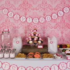 It's a Girl - Pink Ballerina Baby Shower