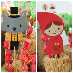 Caperucita Roja / Little red! Delfi - little Red Riding Hood