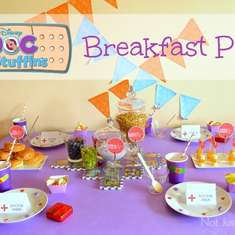 Doc McStuffins Breakfast Party - Doc Mc Stuffins