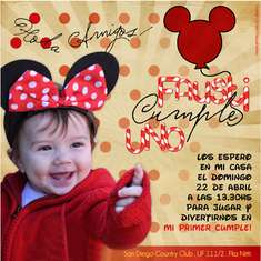 Mickey y Minnie para Fau! - Minnie Mouse