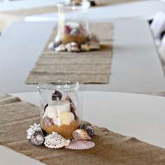 Two Shell Become One - beach wedding