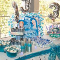 DISNEYS FROZEN Birthday Sofis Frozen Party Catch My Party