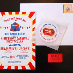 Carnival Birthday Party - Carnival