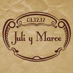 Julia y Marcelo! - Vintage Shabby Chic