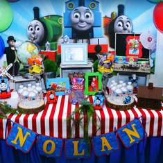 Nolan's 2nd birthday - Thomas and friends