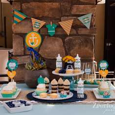 Ahoy it's a Boy - Nautical baby shower