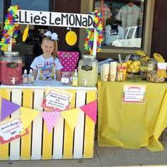 Ellie's Lemonade Stand Fundraiser - Lemonade Stand