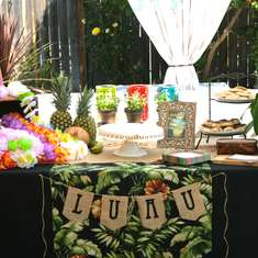 VIntage Luau Bridal Shower - Hawaiian Luau