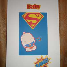 Super Baby Shower - Superman
