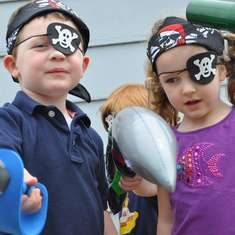 Pirate Birthday Party - Pirate