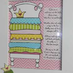 Madelyn's Princess and the Pea party - Princess and the Pea
