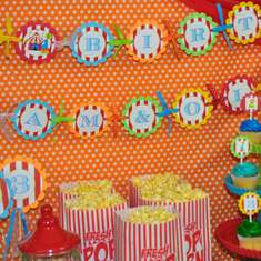 Circus Carnival Birthday Party - Circus/Carnival