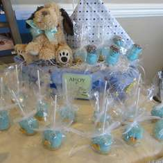 Andrea's Maryland Baby Shower - Baby Blue