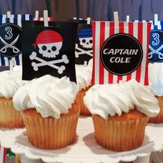 Pirate Party for Captain Cole - Pirate
