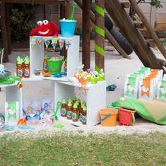 Backyard Beach (Sandpit) Party - Beach/Under the sea/Summer birthday