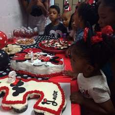 Jaide's 3rd Birthday! - Mickey and Minnie Mouse