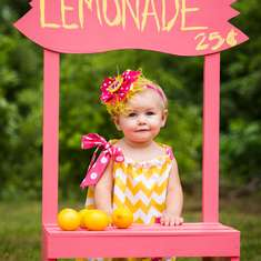 Hannah's 1st Birthday - Pink Lemonade