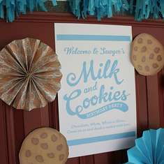Sawyer's 2nd Birthday - MIlk and Cookies