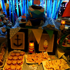 my son Noah's 1st birthday - Coastal/Nautical
