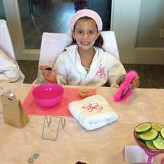 Girl Scout Spa Party - Spa