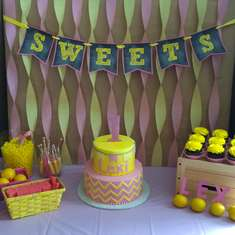 Pink Lemonade First Birthday - None