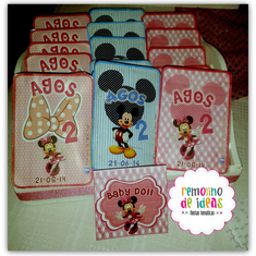 MINNIE PARA AGOS - Mickey and Minnie