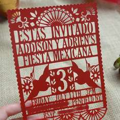 Rustic 3-Esta Twin Birthday - Mexican Fiesta