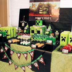 Eddie's 7th Birthday - Minecraft