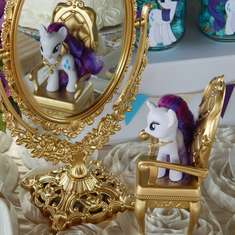 "My Little Pony ""Rarity"" Birthday Party - Vintage Pony Birthday Party"